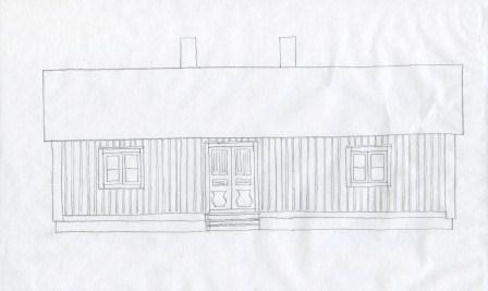 Vårt hus som det kan ha sett ut ursprungligen.