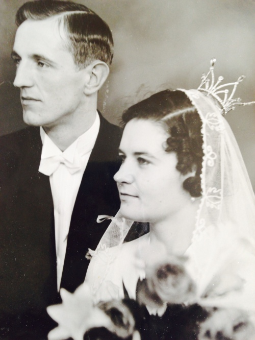 Sven och Elsa Lindström 29 oktober 1939.