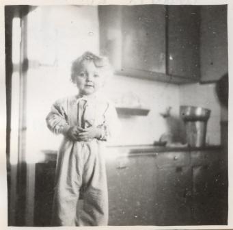 Köket i vårt hus 1951, nuvarande tvättstugan.